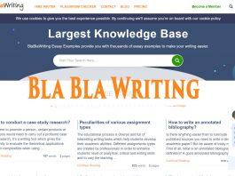 blablawriting service review