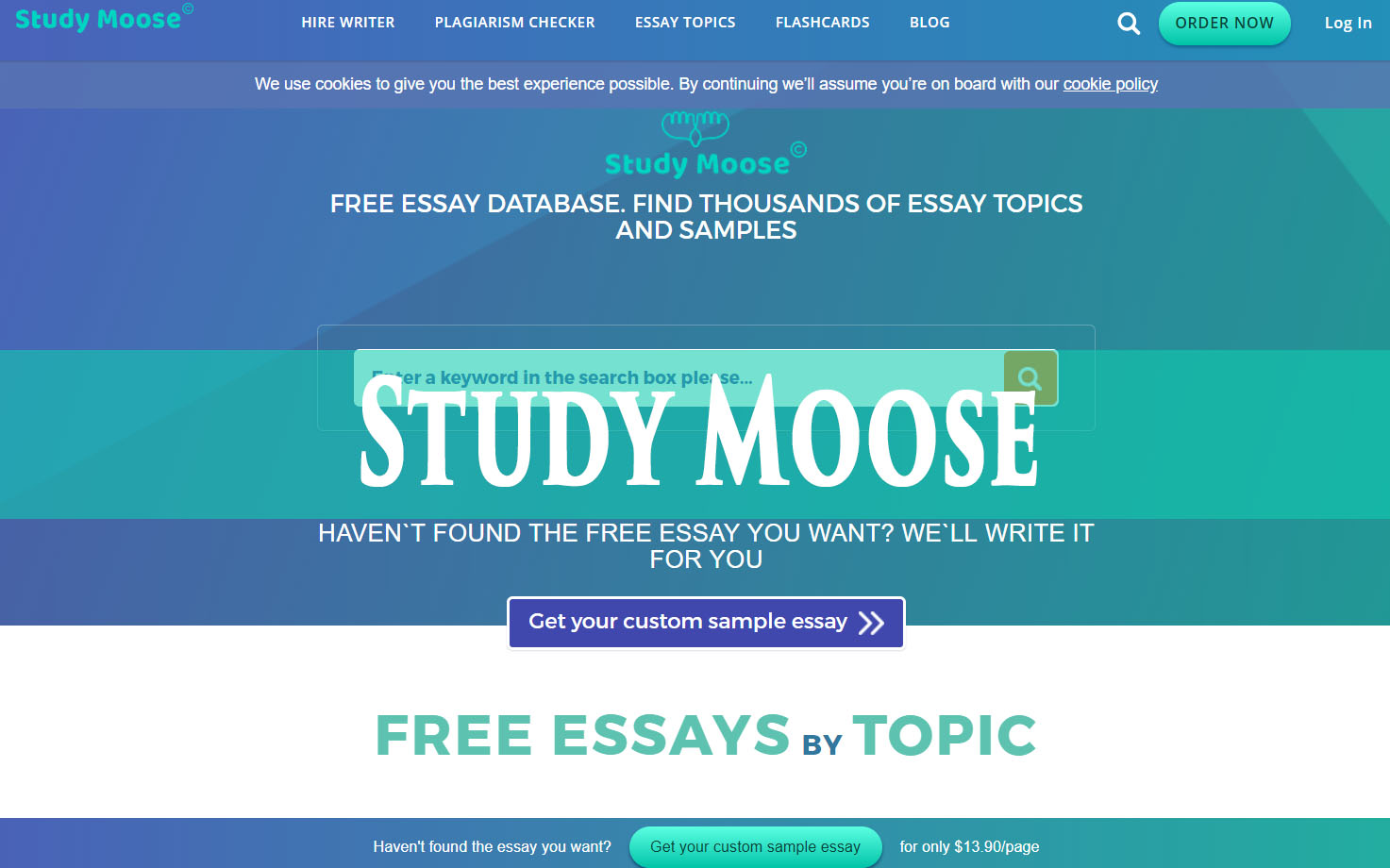 Real essay writing service