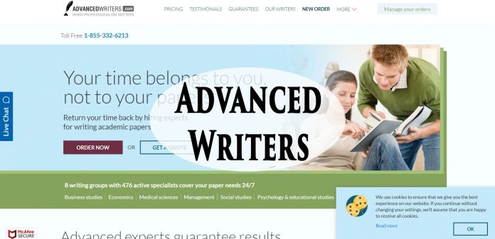 AdvancedWriters.com service review