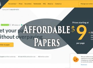 AffordablePapers.com service review
