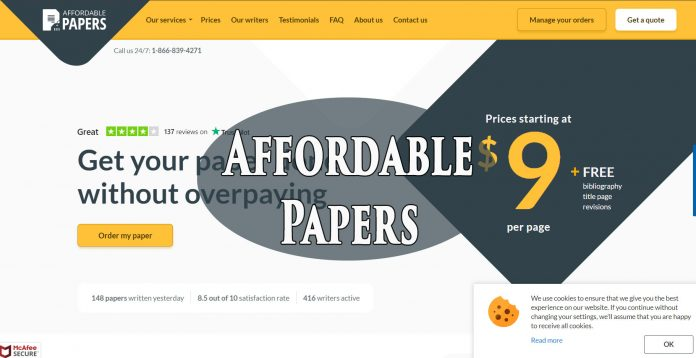 AffordablePapers.com service review