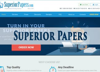 SuperiorPapers.com service review