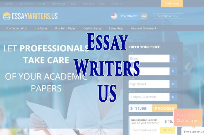 essaywritersus review