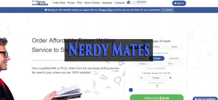 NerdyMates review