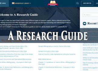 aresearchguide review