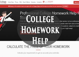 What is College-homework-help