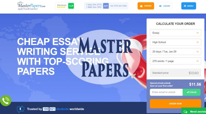 masterpapers review