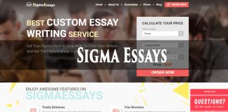sigmaessays review